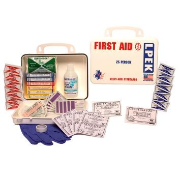 ANSI LPEK - 16-Piece (25 Person) Refill with Eye Wash