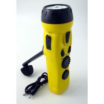 Dynamo Flashlight, Radio, CellCharge