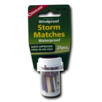 Wind and Waterproof Matches- 25 Pk