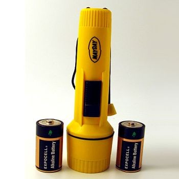 "Flashlight - Uses ""D"" Size Batteries"