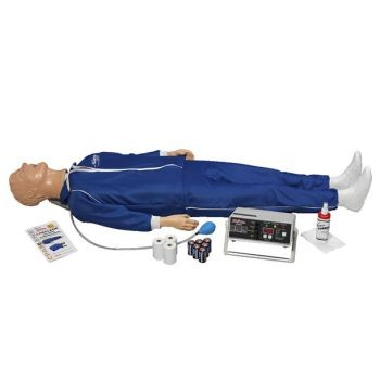 "Full Body ""Airway Larry"" with Electronic Monitoring Printer Unit"