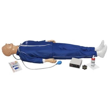 "Full Body ""Airway Larry"" with Light Controller"