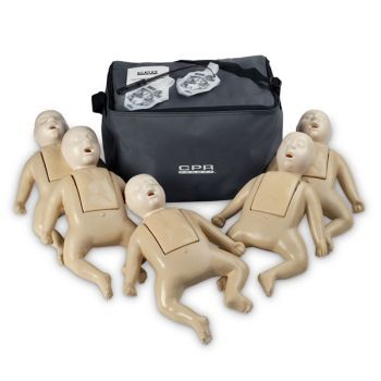 TPAK50T Infant Manikin - Tan 5 Pack - CPR Prompt