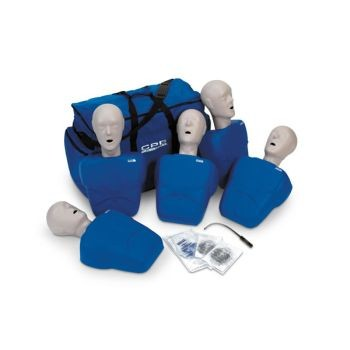 TPAK100 CPR Prompt Adult/Child Manikin 5 Pack (Tan or Blue)