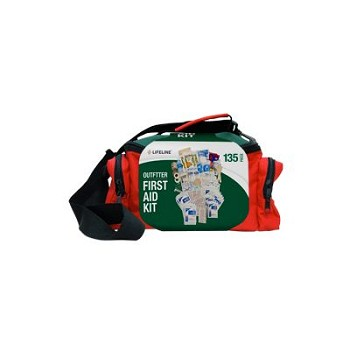 Outfitter First Aid Kit (Red/Green, 135 Piece)