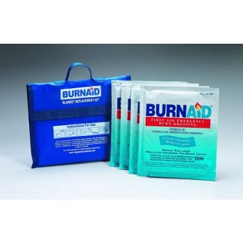 "Burnaid Burn Kit - 4 pack of 16"" x 22"" Burn Dressings"