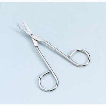 "Scissors (4 1/2"", Nickel Plated)"