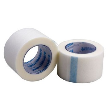 "Hypoallergenic Paper First Aid Tape (1"" x 10 yds) - 12 per Box"