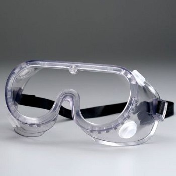 Protective Splash Goggles with Clear Frame