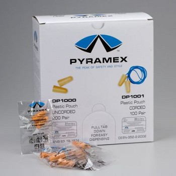 Foam Ear Plugs - 200 Pairs per Double Unit Box