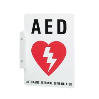 Defibrillator Wall Sign