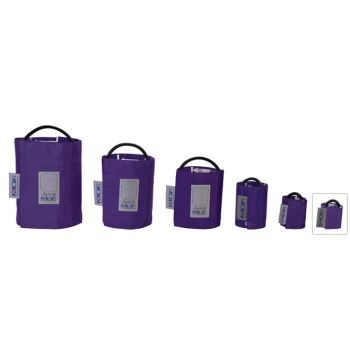 Latex-Free Replacement Blood Pressure Cuff - Newborn/Single Tube (Purple)