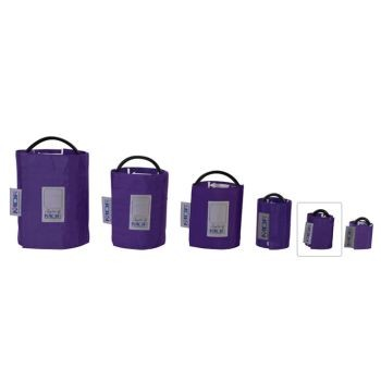 Latex-Free Replacement Blood Pressure Cuff - Infant/Single Tube (Purple)