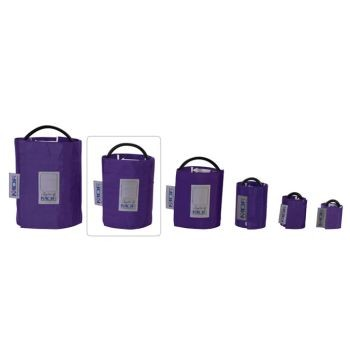Latex-Free Replacement Blood Pressure Cuff - Large Adult/Single Tube (Purple)
