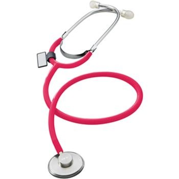 Singularis SOLO Single Head Stethoscope - 10 Pack (Red)