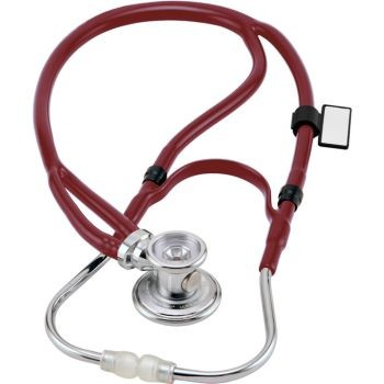 Deluxe Sprague Rappaport X Stethoscope (Burgundy)