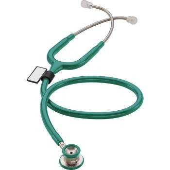 MD One Stainless Steel Stethoscope - Infant (Aqua Green)