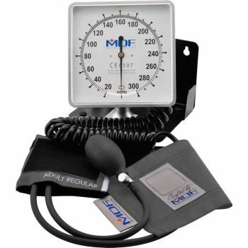 Desk & Wall Aneroid Sphygmomanometer (Gray)