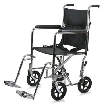 Steel Transport Chair