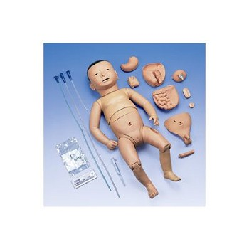 Deluxe Nurse Training Baby with Japanese Facial Features