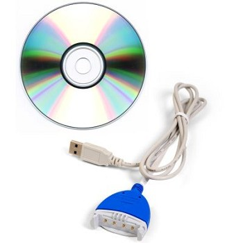 Saver EVO Software CD and Data Cable