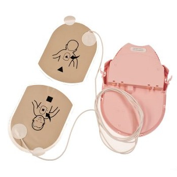 Pediatric PAD-Pak (Battery + Pads) for Patients < 55 lbs