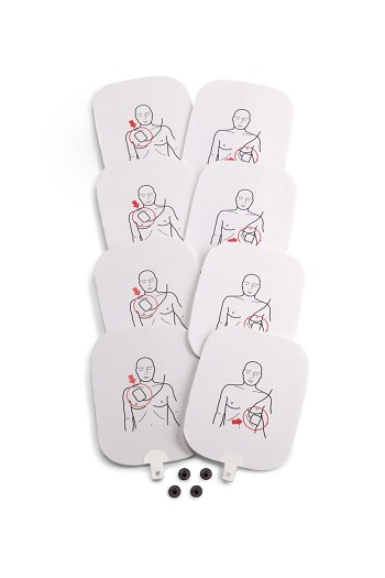 Set of 4, AED Trainer Pads for Prestan Professional AED Trainer