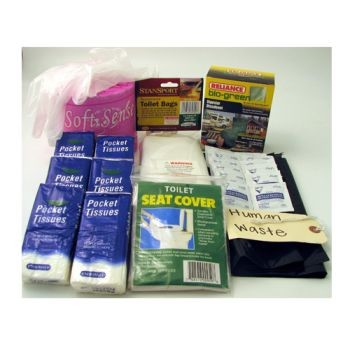 55 piece personal toilet hygiene kit pp33sani made by. Black Bedroom Furniture Sets. Home Design Ideas