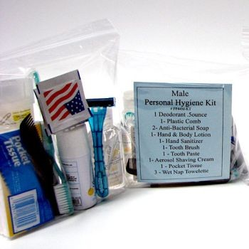 14 Piece Male Personal Hygiene Kit