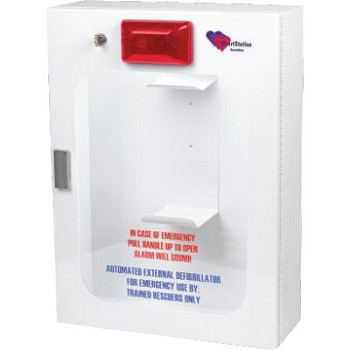 HeartStation AED Wall Cabinet Rescue Case (with Security Tie In)