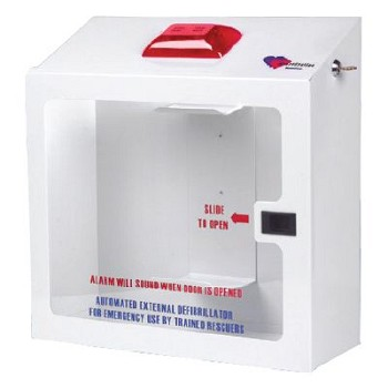 HeartStation AED Wall Cabinet (Recessed with AED Bracket)