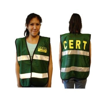 CERT Mesh Vest  with Reflective Strip