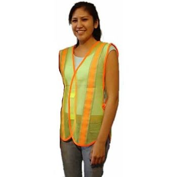 Safety Vest-Lime Green