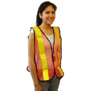 Safety Vest-Nylon with High Reflect Tape