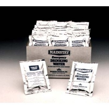 Mainstay Emergency Drinking Water (60 Packets/Case)