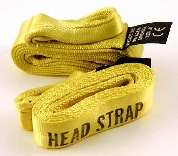 Horizontal Lift Slings (Pair), Bright Yellow