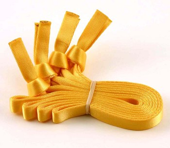 Removable Webbing Handles (Set of 4), Bright Yellow