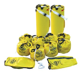 Shuttle SKED Kit, Yellow Bag