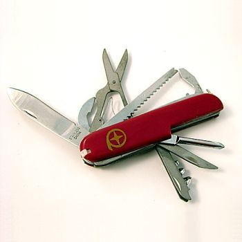 Swiss Army Style Knife- 13 Functions