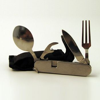 6 IN 1 Fork and Knife Utensil | T220 made by Mayday | CPR Savers and First  Aid Supply