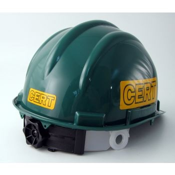 Deluxe CERT Hard Hat with Decals