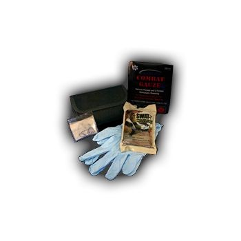 Belt Trauma Kit with QuikClot Combat Gauze LE (Case of 50)