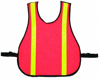 Mesh Safety Vest with Reflective Strips