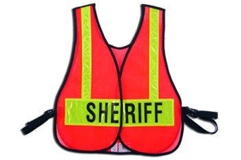 Front Closure Vest For Sheriff