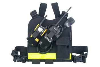Dual-Twin Radio Radio Chest Harness