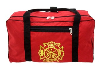 Gear Bag With Gold Maltese