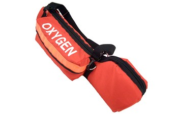 "Oxygen Cylinder Bag With Padded Head ""C"" Cylinder"