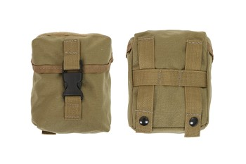 "Outside Front Pocket with Flap & 1"" S/R Buckle"