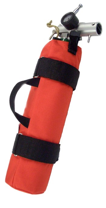 "Oxygen ""D"" Cylinder Sleeve - No Pocket"