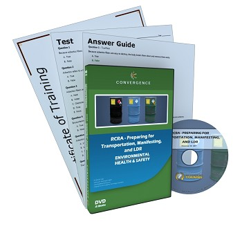 Convergence Training DVD: RCRA - Preparing for Transportation, Manifesting, and LDR